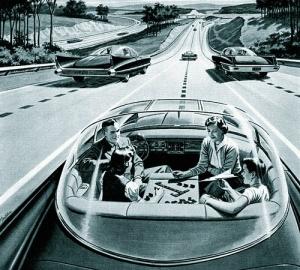 jövő autó 1959 to 1990